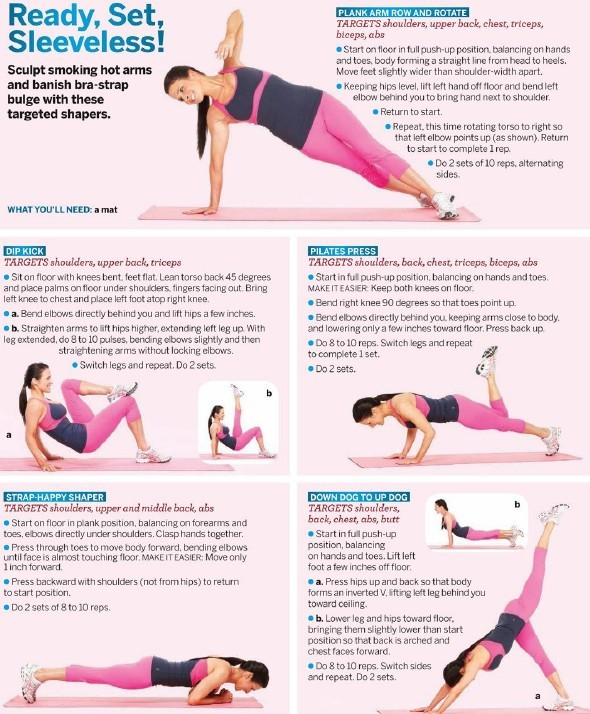 health-heaven:  Upper Body workout.