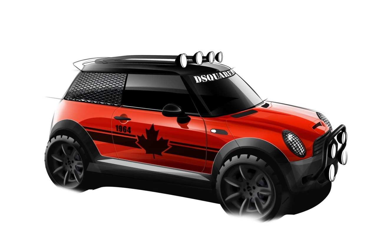 2011 Mini Cooper S Red Mudder (vía Carscoop)