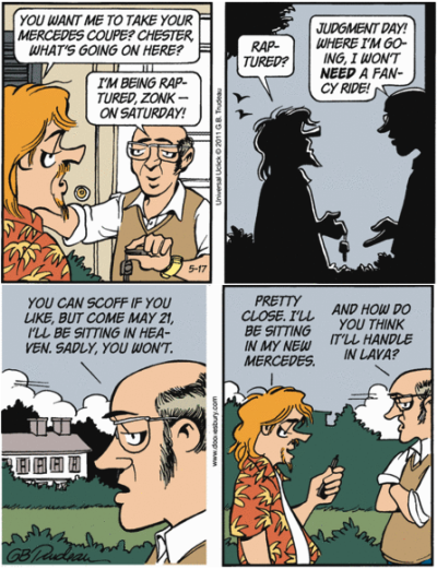 Doonesbury on the non-rapture (17 May 2011)