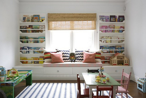 An adorable playroom designed by Anna Spiro.