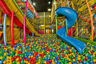 "I miss playing in these..  We need to have an ""adult version"". People would be so much healthier! You burn a lot of calories climb all over the place just to get to the slide at the top. And then I can stop ""borrowing"" my friend's niece and nephew as an excuse to get me in too.."