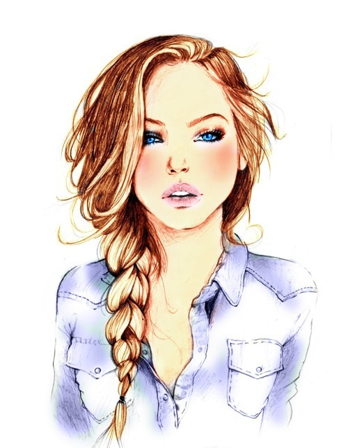 THAT AWKWARD MOMENT WHEN A DRAWING IS PRETTIER THAN YOU.
