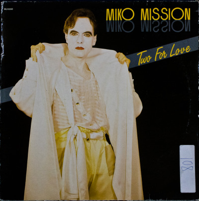 "Miko Mission - Two For Love (12"") Label: Blow Up DiscoCat#: BU 0050Italo-Disco, Italy, 1985RYM / Discogs"