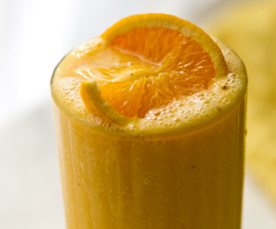 findvegan:  Citrus Smoothie with fresh OJ