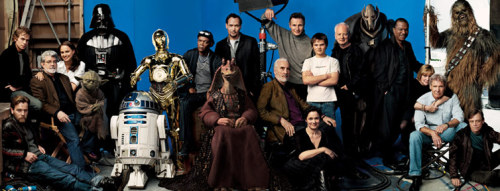 All Star Wars actors in one photo