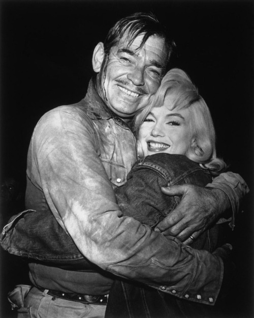 "Clark Gable and Marilyn Monroe ""The Misfits"""