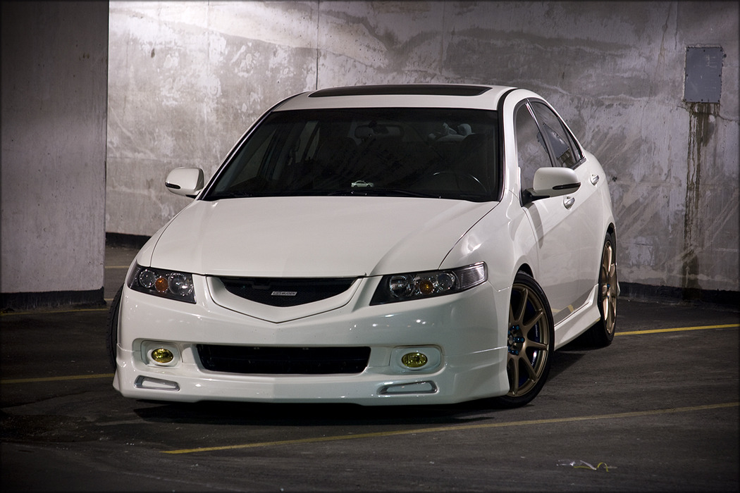 Pearl by Elan Shi Acura TSX with Mugen Lips/Grill Location: Ontario, Canada  jdmaniacs: