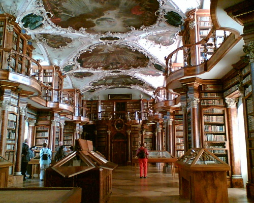 The Abbey Library, St. Gallen, Switzerland