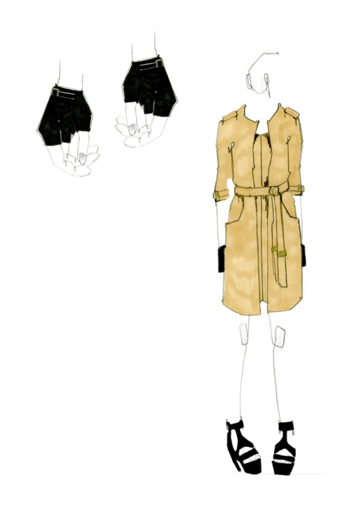 Burberry Competition Illustration 1