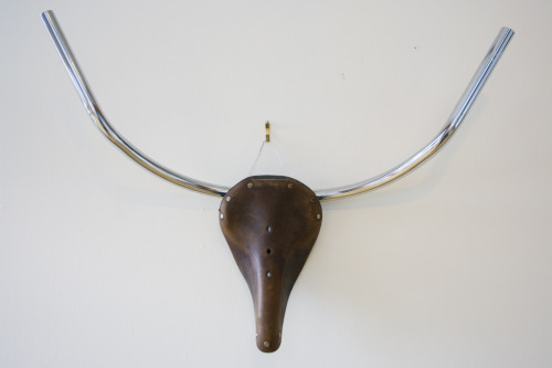 Atelier 688 Toro (After Picasso) vintage bike parts antler set $135.00 (Sold)