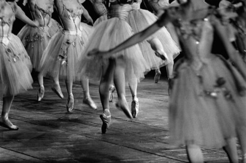 Ballet, Paris Opera, 1960 by  Jeanloup Sieff * from Art Blart