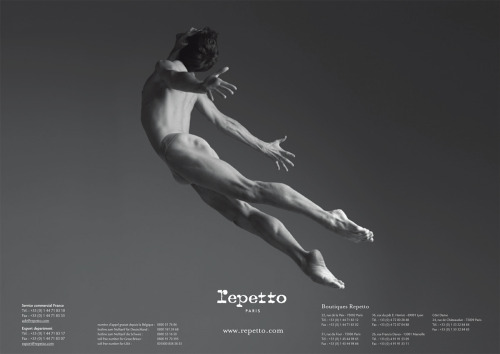 knightyknight:  Vincent Chaillet by Gregory Derkenne for Repetto Collection Danse 2010-2011.