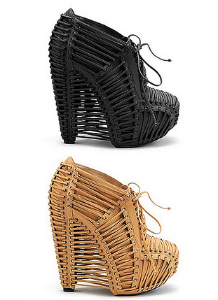 via LE FASHION Iris van Herpen X United Nude Crystallization