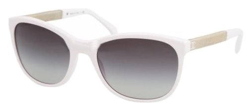 chanel white 5185 sunglasses