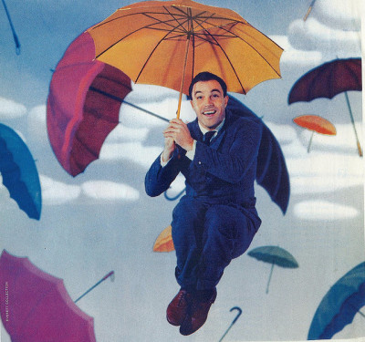 theniftyfifties:  Gene Kelly for Singing in the Rain, 1952.  This is my favourite dancing photo ever and quite possibly my favourite photo ever period.