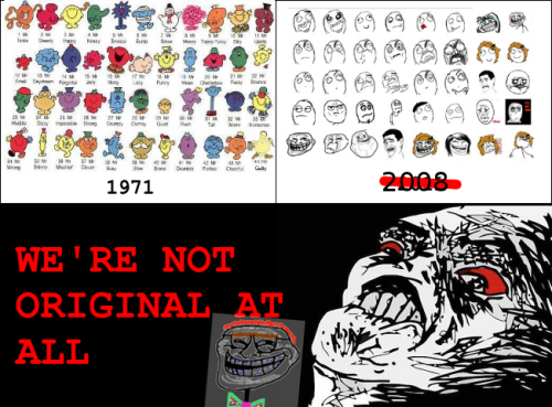 meme troll cereal guy forever alone
