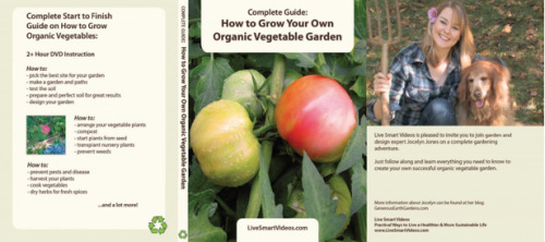 Check out my video! It's a complete guide on how to grow your own organic vegetables. For sale at http://www.livesmartvideos.com/videos/