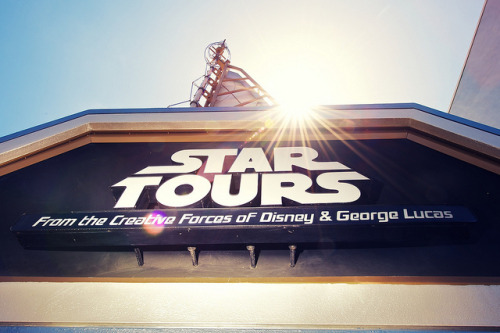 Out With the Old… on Flickr.(Old) Star Tours Exterior Disneyland Anaheim, CA