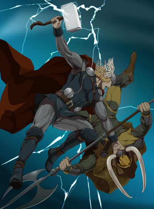 justintr:  Thor - by Doubleleaf More Doubleleaf
