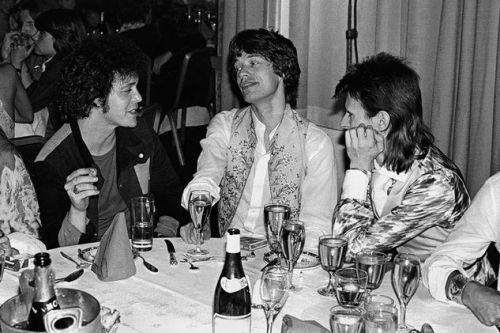 Lou Reed , Mick Jagger , David Bowie