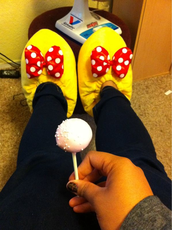 Cake pop Minnie Heels