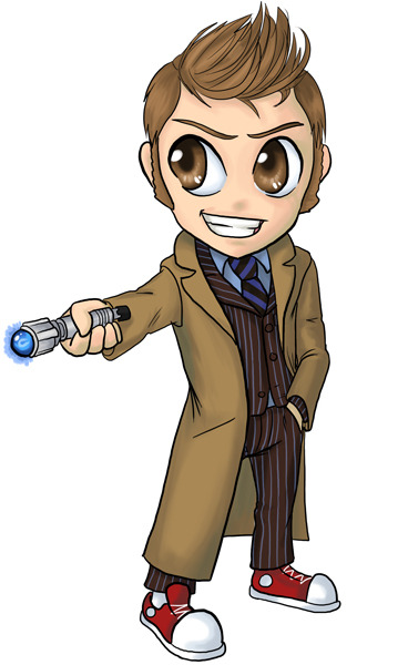 Finished that Doctor Who pic I sketched last night.