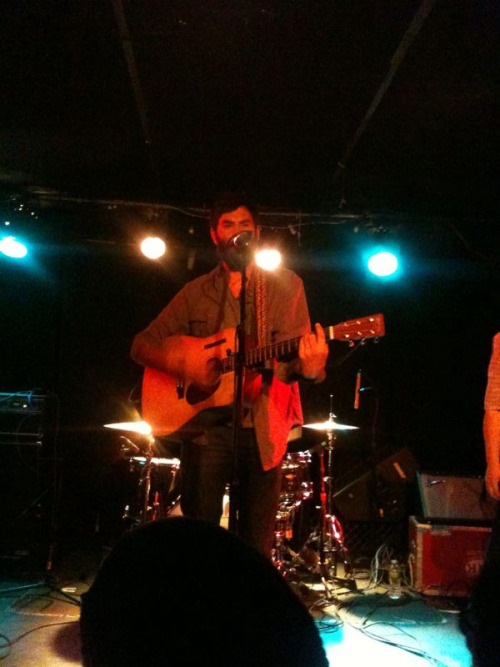 scatteredshowers:  The Head and the Heart at Mercury Lounge. Seriously the best show I've seen in a long time.