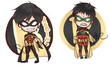 will be sold at anime north as keychains~~