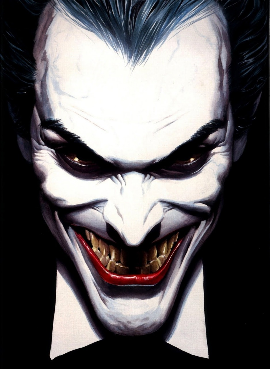 error888:  Images……: The Joker. (Alex Ross.)