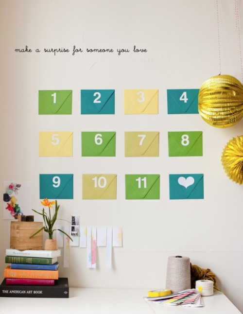 Surprise someone creatively! :)