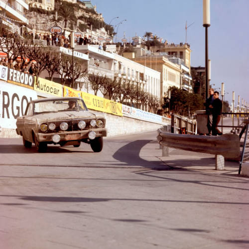 Ford Falcon at Monte Carlo