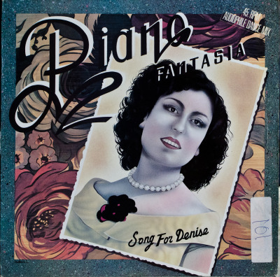 "Piano Fantasia - Song For Denise (12"") Label: Carrere/CleverCat#: 8560Italo-Disco, France, 1985RYM / Discogs"