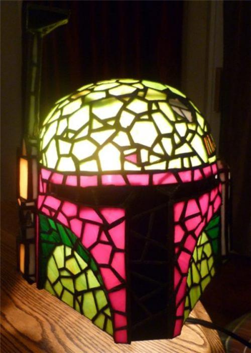 Boba Fett Tiffany Lamp