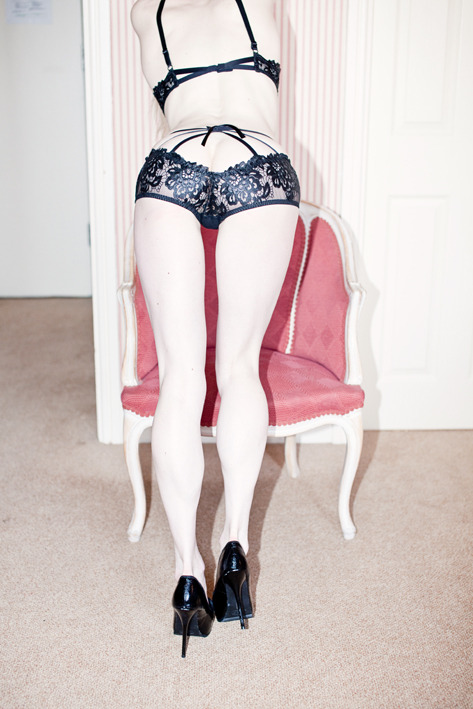 via: The Dirty Story Lingerie by Agent Provocateur