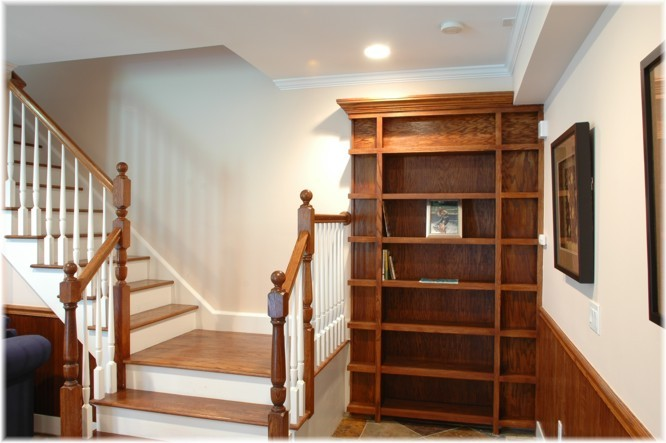 stray-dog-strut:  need a house with this.. it would lead to a huge library.. :D
