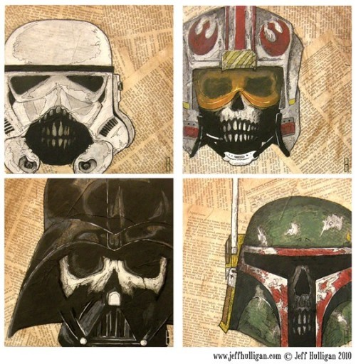 tiefighters:  Dead Star Wars Prints // by Jeff Hulligan