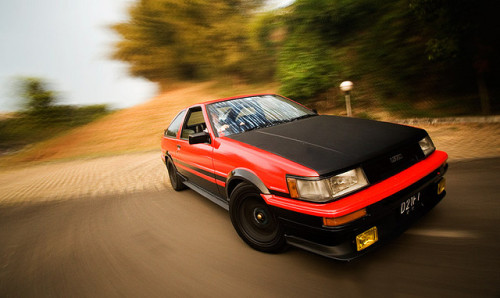 motoriginal:  Status as a Drifter by Leonardo Ferdian Toyota AE86 Levin Location: Indonesia
