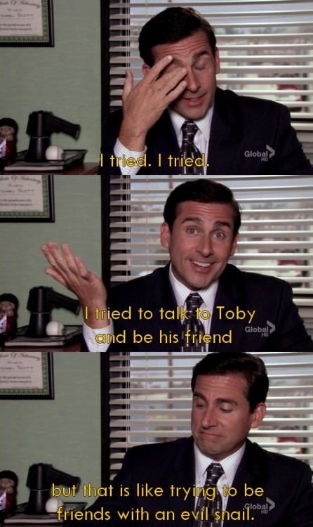 Michael Scott, you will be missed