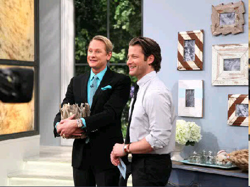 Tune into The Nate Berkus Show today! Stewart & James frames will be featured and I could NOT be more excited for them. Arre & Kristen are two of the most precious people I know. Their frames are gorgeous (Macy & I are using them in the nursery) and we are beyond thrilled the world is being introduced to their charm. Cheering for you girls!   (That's Nate & Carson falling in love with the frames. Of course)
