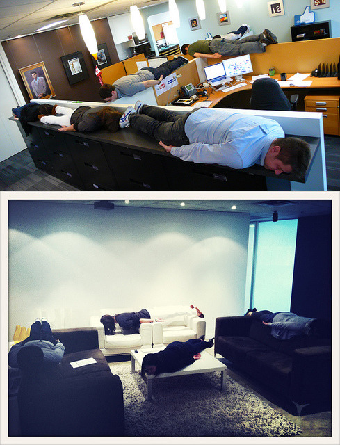 File Under - Ad Agency Fun/@RadarDDB Planking via @kumii