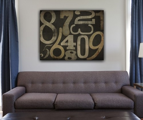 (via HANDMADE Numerology Vintagestyle TYPOGRAPHIC by nativevermont)