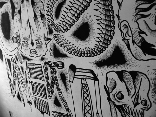 detalle del mural la cosa nuestra on Flickr.by:devoner