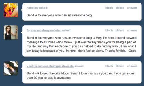 Thank you so so much. <3