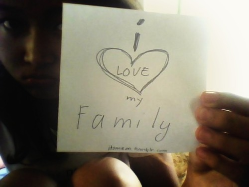 "I love my FAMILY. THE ""I"" MOVEMENT : BE PART OF A MOVEMENT TO INSPIRE THE WORLD! send me a link of your photo or submit it here"