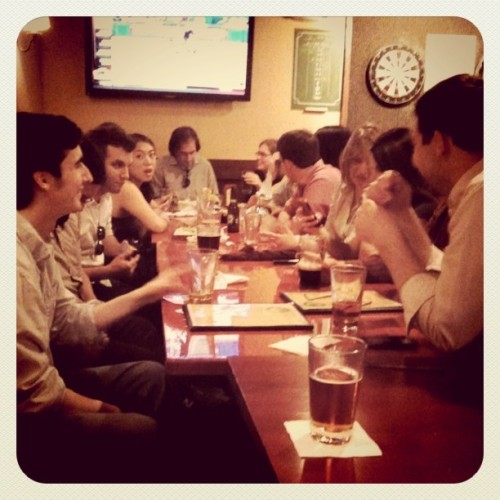 Post-#ONADC outing (Taken with Instagram at Laughing Man Tavern)