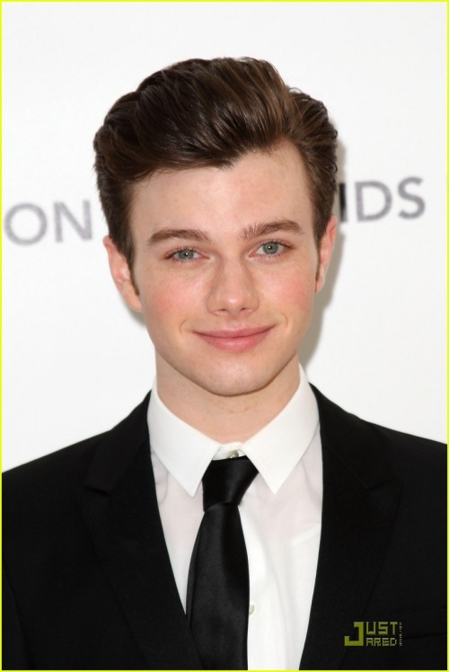 "Here, have some pretty Chris. This is still ChrisColferNews. I just did a little redecorating. :) I was considering changing my url to ""StoneColdHandsomeChrisColferNews"" but I didn't want to mess up anyone's bookmarks :P"