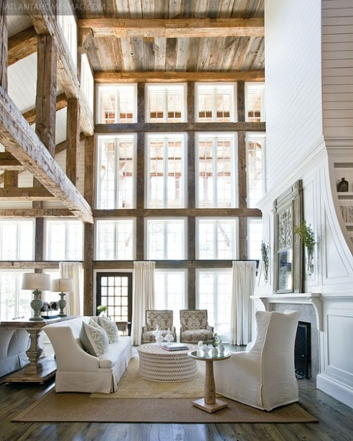 in love with the high ceilings in this house