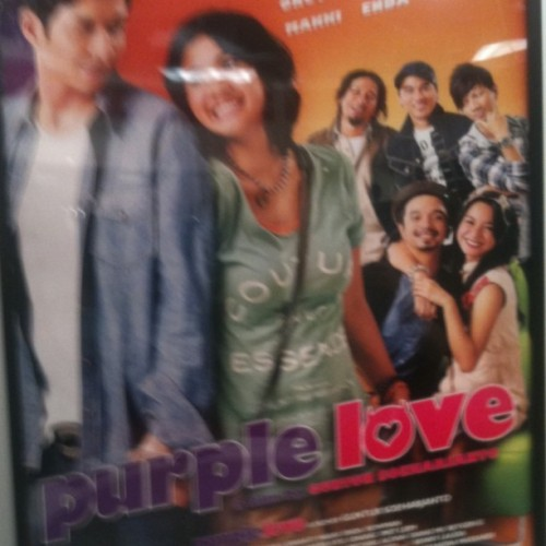 Awful movie poster of the day: Purple Love #cannes (Taken with instagram)