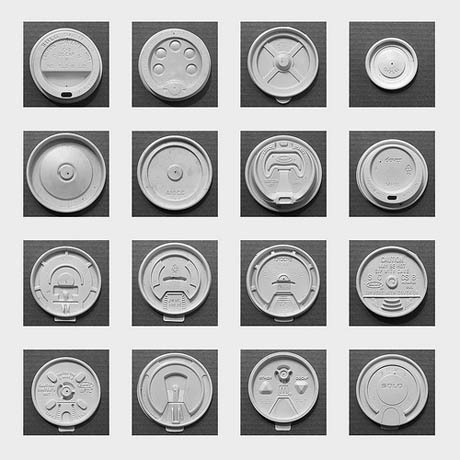 The Evolution of The Disposable Coffee Cup Lid Fascinating look at the collection and design of the disposable coffee cup lid. (Did you know that Americans go through 1.5B of these each year? Now I know why @Tobyd worked on the BetaCup project)