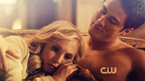 """Caroline: Romance, romance, romance. Let's face it — Caroline (Candice Accola) has chemistry with everyone on this show. While it seems like she and Matt have run their (extremely mercurial) course, there's still plenty to explore with Tyler. She's probably going to need some time to get over Boy Wonder, but if that extremely touching shirtless scene has any bearing, we're sure Tyler will happily help her deal with that particular obstacle. We're also not ruling out the possibility of her and Stefan connecting on a deeper level once he's off the sauce. Their scenes together were amongst our favorites.""  CAN'T WAIT FOR SEASON III"
